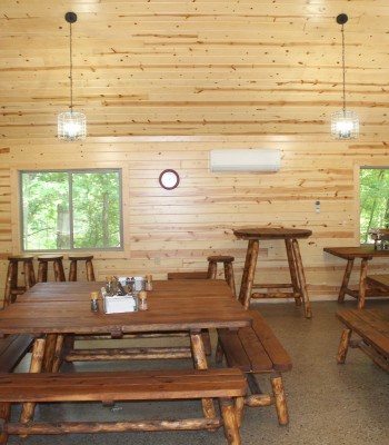 Deer Ridge Training Center dining area