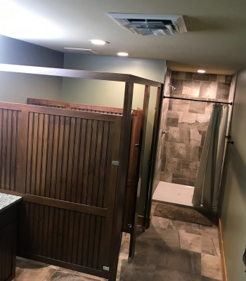 Training Center bathroom