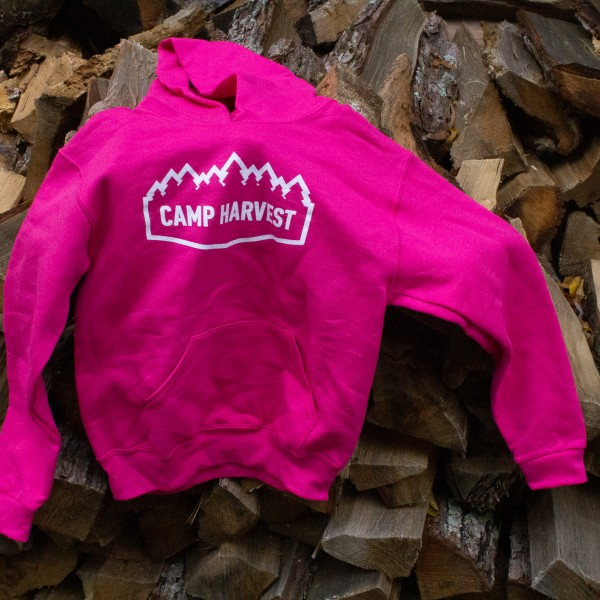 Camp Harvest Cyber Pink Sweat Shirt Hoodie